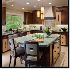 Contemporary Kitchen by Alison Whittaker Design, Inc.
