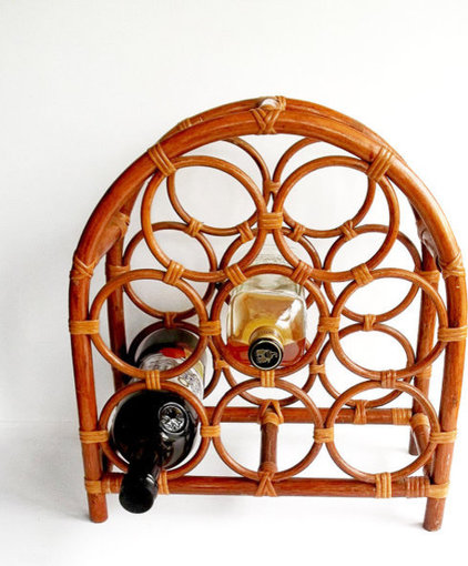modern wine racks by Etsy