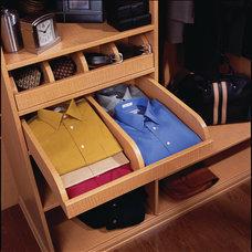 Contemporary Closet Storage by transFORM | The Art of Custom Storage