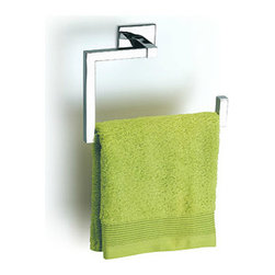Baño Diseño Luk Collection - Square Towel Ring For Bathrooms - Luk Collection - Unique Square Towel Ring For Bathrooms. Designed with clean modern lines that exudes luxury and elegance. Ideal for upscale bathroom settings!