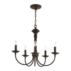 Trans Globe Lighting - Trans Globe Lighting 9015 BK New Century Transitional Chandelier - Trans Globe Lighting 9015 BK New Century Transitional Chandelier