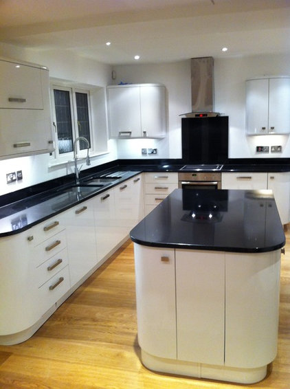 Eclectic Kitchen Countertops by Stone of London