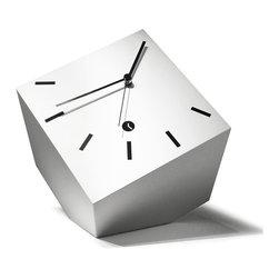 Modo Bath - Tothora Box 20 White Table Clock - Box 20 White Table Clock