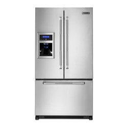 Jenn-Air French Door Refrigerator, Stainless Steel   JFI2089AEP - ICE & WATER DISPENSER W/LCD DISPLAY
