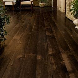 Brown Maple Floors -