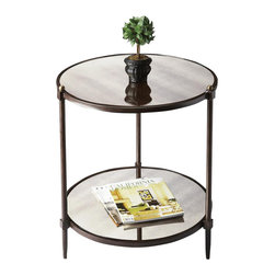Butler - Transitional Side Table - This transitional side table is a beautiful accent in any space