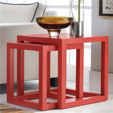 Contemporary Side Tables And End Tables by Zinc Door