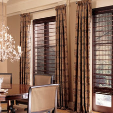 Traditional Vertical Blinds by Window Designs by Diane