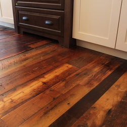 Weathered Antique Pine - Reclaimed Heart Pine, Original Petina and Texture
