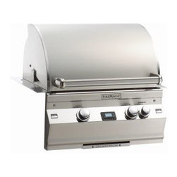 "Fire Magic - Aurora A430i2L1N Built In NG Grill with Backburner & Infrared Burner - A430 Built In Grill with  Rotisserie Backburner, Grill Light & Factory Installed Left Side Infrared BurnerAurora A430i Features: Cast stainless steel ""E"" burners - guaranteed for life"