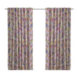 RENATE FLORA Pair of curtains - Pair of curtains, multicolor