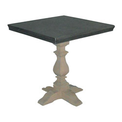 EuroLux Home - New Accent Table Oak Square Baluster F - Product Details