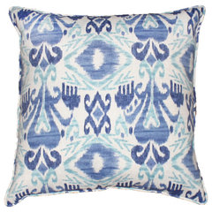 eclectic outdoor pillows by Furbish