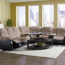 traditional sectional sofas by BuySectional.com