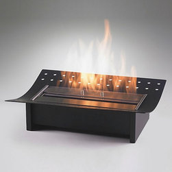 Eco-Feu 1.5L Insert - The Eco-Feu 1.5L Insert will amaze and delight you with the heat it provides. This eco friendly fireplace insert can enhance the look of any room. , You'll be able to enjoy the warmth and comforts of an efficient fireplace that helps save on fuel costs.