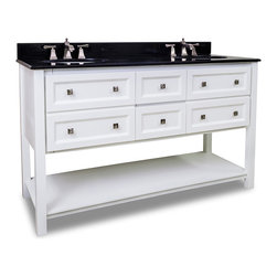 "60"" Helix Double Sink Vanity -"