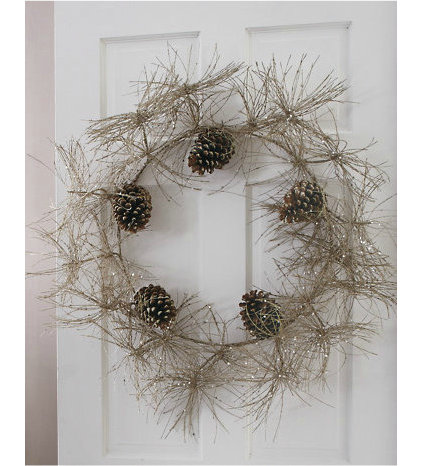 Contemporary Holiday Outdoor Decorations by Garnet Hill