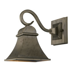 World Imports - World Imports Dark Sky Revere Flemish Outdoor Wall Sconce - World Imports 61300-06 Dark Sky 1-Light Outdoor Wall Light in Flemish
