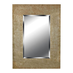 """Kenroy Home - Rustic - Lodge Kenroy Home Sheen Golden Copper 40"""" High Wall Mirror - An eye-catching piece that fits into several home decorating styles the Sheen mirror features a large rectangular frame with a golden copper finish. Within the frame lies a sparkling mirror panel with luxurious beveled glass. Hang above a vanity or in an entryway for a glamorous style that reflects beautifully. By Kenroy Home. Golden copper finish frame. Beveled mirror glass.  40"""" high. 30"""" wide. Mirror glass only is 28"""" high 18"""" wide.  Golden copper finish frame.  Beveled mirror glass.  40"""" high.  30"""" wide.  Mirror glass only is 28"""" high 18"""" wide."""