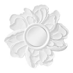 Murray Feiss - Murray Feiss Peony Contemporary Wall Mirror X-WGH5611RM - Murray Feiss Peony Contemporary Wall Mirror X-WGH5611RM