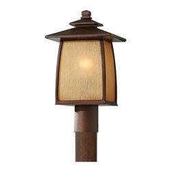 Murray Feiss - Murray Feiss OL8508SBR Wright House 1 Bulb Sorrel Brown Outdoor Lighting - Murray Feiss OL8508SBR Wright House 1 Bulb Sorrel Brown Outdoor Lighting