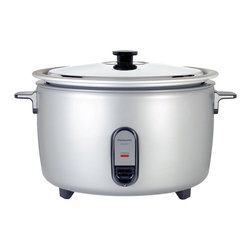 Panasonic - 40-Cup Rice Cooker - 40 cups (6-ounce cup) of uncooked rice