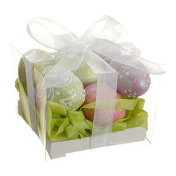 Silk Plants Direct - Silk Plants Direct Glittered Easter Eggs (Pack of 12) - Silk Plants Direct specializes in manufacturing, design and supply of the most life-like, premium quality artificial plants, trees, flowers, arrangements, topiaries and containers for home, office and commercial use. Our Glittered Easter Eggs includes the following: