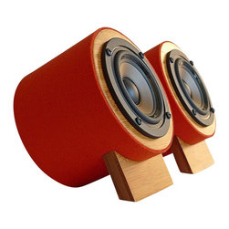 "Well Rounded Sound Yorkie 100 - 21000 Hz 8 Ohm 88 dB 30 Watt Speaker Pair - 16941694aMade In The USA1694bThis speaker incorporates an advancedFull Range Driver with nuanced detail and 3D sound stage. A PP cone with exponential curve sounds well extended, supremely smooth and fatigue free. The enclosure is made of fully recyclable composite material and is finished in plush 100% Zealand Wool and Carbonized Bamboo. Colors are deep and rich. Zealand Wool Felt is naturally moisture and stain resistant and provides excellent dampening for the enclosure. RECOMMENDED SUBWOOFER:- WRS Woof 1 and WRS Woof 3SPECIFICATIONS: - Power Handling: 15 watts RMS - 30 watts max - Impedance: 8 ohms - Frequency range: 100-21,000 Hz- SPL: 88 dB 1W/1m- Standard Speaker Wire Length 3 feet- Note: Amplifier is not included. Dimensions: - Overall length 3 1/2"" - Overall height 5 1/2""Finish:- 100% Zealand Wool Felt and Carbonized Bamboo Veneer & PlyKey Points:- Pure Signal Path - Our speakers are connected directly to your amplifier ensuring the most direct, unaffected signal path. No binding posts. We include pure copper wiring in standard calibrated lengths for all of our desktop models.- Pure Enclosure Design - Our enclosures are acoustically optimized and properly calibrated to give you the most natural pure sound. The very best natural materials are used for the finish. 100% natural Zealand Wool Felt and Bamboo veneers and solids ensure pure, clean finish to satisfy the most stringent indoor air quality requirements and to give you the most natural finish available in the industry.- Full Range Drivers - The most crucial element of our design philosophy is the utilization of Full range drivers that give the most natural, vivid and virtually holographic listening experience. Utilizing single full range drivers for a critical bandwidth from 100 Hz to 20,000 Hz has significant advantage in near-field listening. The sound is more coherent and lucent with tremendous musicality"