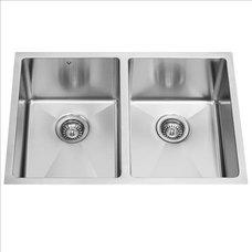Traditional Kitchen Sinks VIGO VGR2920A 29-inch Undermount Kitchen Sink