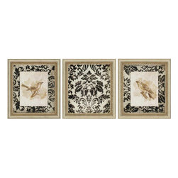 Paragon - Vintage PK/3 - Framed Art - Each product is custom made upon order so there might be small variations from the picture displayed. No two pieces are exactly alike.