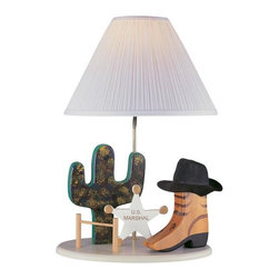 Joshua Marshal - Beige Children Kids Table Lamp From The Kids Collection - Finish: Beige