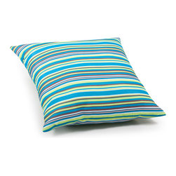 ZUO VIVA - Puppy Large Pillow Multicolor stripe - Puppy Large Pillow Multicolor stripe