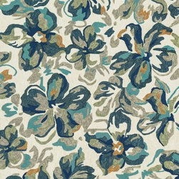 """Loloi - Indoor/Outdoor Tropez 3'6""""x5'6"""" Rectangle Ivory-Floral Area Rug - The Tropez area rug Collection offers an affordable assortment of Indoor/Outdoor stylings. Tropez features a blend of natural Ivory-Floral color. Handmade of Polypropylene the Tropez Collection is an intriguing compliment to any decor."""
