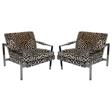 Eclectic Living Room Chairs by 1stdibs
