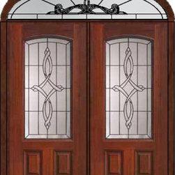 """Prehung Transom Double Door 80 Fiberglass Marsais Arch Lite Glass - SKU#MCT06395_DFAMS2-EUBrandGlassCraftDoor TypeExteriorManufacturer CollectionArch Lite Entry DoorsDoor ModelMarsaisDoor MaterialFiberglassWoodgrainVeneerPrice4385Door Size Options2(36"""")[6'-0""""]  $0Core TypeDoor StyleDoor Lite StyleArch LiteDoor Panel Style2 PanelHome Style MatchingDoor ConstructionPrehanging OptionsPrehungPrehung ConfigurationDouble Door and Elliptical TransomDoor Thickness (Inches)1.75Glass Thickness (Inches)Glass TypeDouble GlazedGlass CamingBlackGlass FeaturesTempered glassGlass StyleGlass TextureGlass ObscurityDoor FeaturesDoor ApprovalsEnergy Star , TCEQ , Wind-load Rated , AMD , NFRC-IG , IRC , NFRC-Safety GlassDoor FinishesDoor AccessoriesWeight (lbs)753Crating Size36"""" (w)x 108"""" (l)x 89"""" (h)Lead TimeSlab Doors: 7 Business DaysPrehung:14 Business DaysPrefinished, PreHung:21 Business DaysWarrantyFive (5) years limited warranty for the Fiberglass FinishThree (3) years limited warranty for MasterGrain Door Panel"""