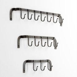 Cyan Design - Morty's Five Arm Coat Hook - Morty's five arm coat hook - rustic gray
