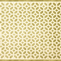 Apt2B - Kregg Area Rug, Fern, 5 X 8 - The Kregg Collection is machine woven in Belgium from silky viscose yarns, featuring the look and feel of real silk at a fraction of the cost. Woven from a precise, machine loomed technique, the Kregg collection uses a rich color pallete to create a sophisticated modern look that will complement a wide range of room styles.