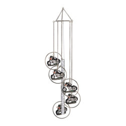 GSC - Wind Chime 5-Ring Polyresin Charm Motorcycle Hanging Garden Decoration - This gorgeous Wind Chime 5-Ring Polyresin Charm Motorcycle Hanging Garden Decoration has the finest details and highest quality you will find anywhere! Wind Chime 5-Ring Polyresin Charm Motorcycle Hanging Garden Decoration is truly remarkable.