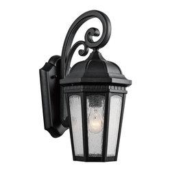 Joshua Marshal - One Light Textured Black Hanging Lantern - One Light Textured Black Hanging Lantern