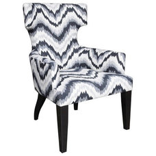 Eclectic Living Room Chairs by PLANTATION
