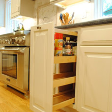 Transitional Kitchen Cabinetry by Sterling Kitchen & Bath