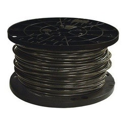 SOUTHWIRE - Wire #8 Strand Black 500'Rol - #8 Stranded 500' Roll, black