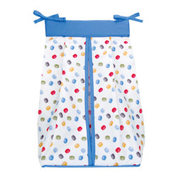 Trend Lab - Nascar Diaper Stacker - Why not go all the way? and complete your babys nursery with this wonderful accessory? Keep your diapers organized concealed and close at hand with the Nascar - Diaper Stacker by Trend Lab features ties allow for easy attachment to most dressers and changing tables. Measures 12 x 8 x 20.25 inches and holds up to three-dozen diapers. Care instructions Machine wash cold; Gentle cycle; Do not bleach; Tumble dry low or line dry; Do not dry clean.