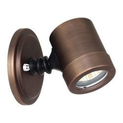 Access Lighting - Myra 1-lt Outdoor Wet Location Adjustable Spotlight, Bronze - Myra 1-lt Outdoor Wet Location Adjustable Spotlight