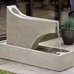 Campania - Precipice Outdoor Fountain (4 pc) -