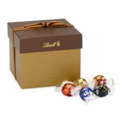 Lindt - Lindt Lindor Truffles Chocolate Classic 45-Count Gift Box - A gift that makes a statement, this classic chocolate assortment is perfect for any occasion. The elegant box contains 45 individually wrapped Lindor Truffles in the following best-selling flavors: milk, dark, white, 60% extra dark and peanut butter.
