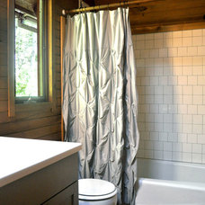 Traditional Bathroom by Stephanie Dyer Interior + Product Design