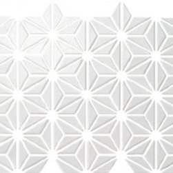 C to C Tile Mosaics - Hemp Leaf Meshed Mosaic.  Available in many color options.
