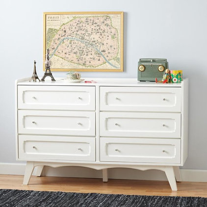 contemporary kids dressers by The Land of Nod