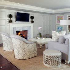 Traditional Family Room by Blume Architecture
